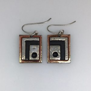 Rectangular Hook Earrings